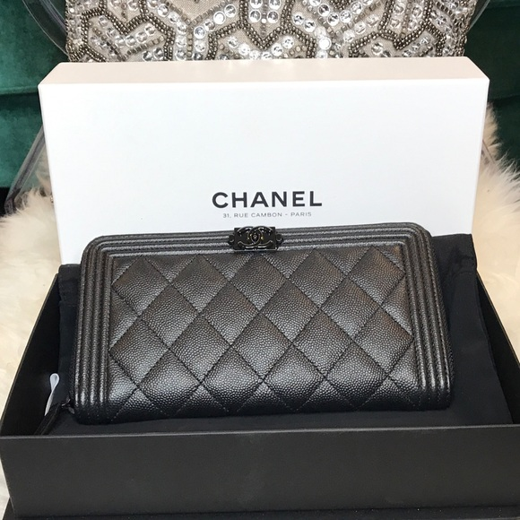 Chanel Bags Le Boy Lrg Wallet Poshmark